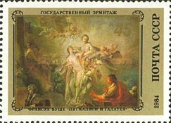 [French Paintings in Hermitage, Typ GMQ]