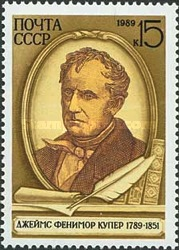 [The 200th Anniversary of the Birth of James Fenimore Cooper, Typ HGY]