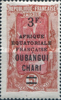 [Not Issued Middle Congo Stamps Overprinted, Typ H5]