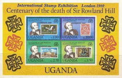 """[International Stamp Exhibition """"London 1980"""" - London, England - Issues of 1979 Overprinted """"LONDON 1980"""", type ]"""