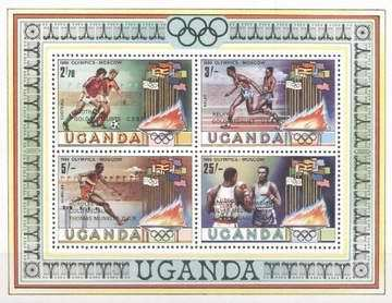 [Olympic Medal Winners - Issues of 1980 Overprinted, type ]