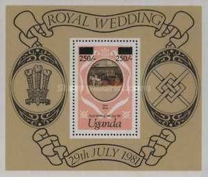 [Royal Wedding - Previously Unissued Stamps Surcharged, type ]