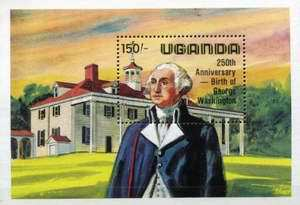 [The 250th Anniversary of the Birth of George Washington, 1732-1799 and the 100th Anniversary of the Birth of Franklin D. Roosevelt, 1882-1945, Typ ]