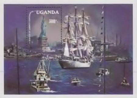 [The 100th Anniversary of Statue of Liberty - Cadet Sailing Ships, Typ ]