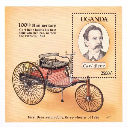 [The 100th Anniversary of Carl Benz's First Four-Wheeled Car, Typ ]