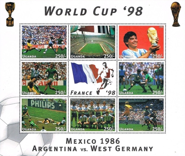 [Football World Cup - France (1998) - Argentina vs. West Germany, Typ ]