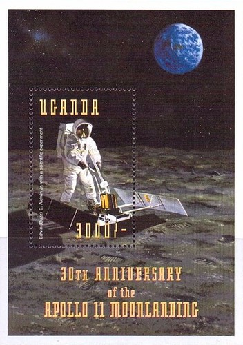 [The 30th Anniversary of First Manned Landing on Moon, type ]