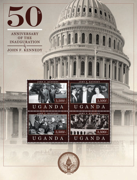 [The 50th Anniversary of the Inaguration of John F. Kennedy, 1917-1963, Typ ]