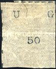 [Wide Letters - Stamps 20-26mm Wide. Thin Laid Paper, type A4]