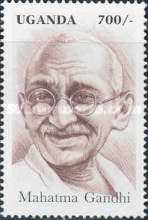 [The 50th Anniversary (1998) of the Death of Mahatma Gandhi, 1869-1948, Typ BMY]