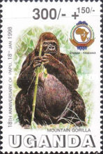 [The 18th Anniversary of Pan African Postal Unio, Typ BNO]