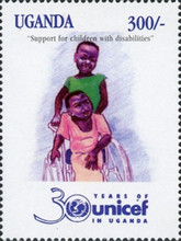 [The 30th Anniversary of UNICEF, Typ BOD]