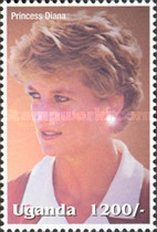 [Famous People of the Late 20th Century - The 5th Anniversary of the Death of Diana, Princess of Wales, 1961-1997, Typ CIE]