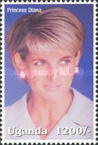 [Famous People of the Late 20th Century - The 5th Anniversary of the Death of Diana, Princess of Wales, 1961-1997, Typ CIF]