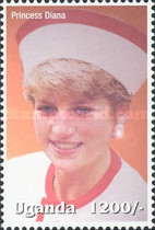 [Famous People of the Late 20th Century - The 5th Anniversary of the Death of Diana, Princess of Wales, 1961-1997, Typ CIG]