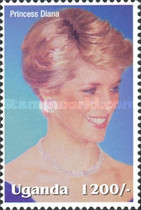 [Famous People of the Late 20th Century - The 5th Anniversary of the Death of Diana, Princess of Wales, 1961-1997, Typ CIH]