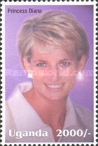 [Famous People of the Late 20th Century - The 5th Anniversary of the Death of Diana, Princess of Wales, 1961-1997, Typ CII]