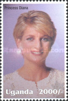 [Famous People of the Late 20th Century - The 5th Anniversary of the Death of Diana, Princess of Wales, 1961-1997, Typ CIJ]