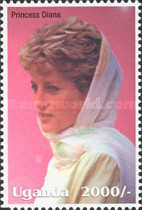 [Famous People of the Late 20th Century - The 5th Anniversary of the Death of Diana, Princess of Wales, 1961-1997, Typ CIK]