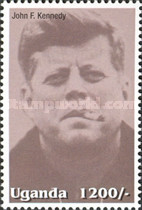 [Famous People of the Late 20th Century - The 85th Anniversary of the Birth of President John F. Kennedy, 1917-1963, Typ CIM]
