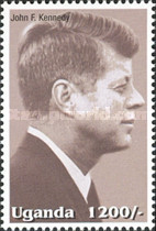 [Famous People of the Late 20th Century - The 85th Anniversary of the Birth of President John F. Kennedy, 1917-1963, Typ CIN]