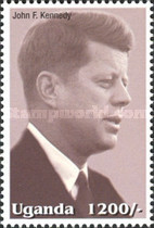 [Famous People of the Late 20th Century - The 85th Anniversary of the Birth of President John F. Kennedy, 1917-1963, Typ CIO]