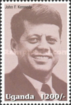 [Famous People of the Late 20th Century - The 85th Anniversary of the Birth of President John F. Kennedy, 1917-1963, Typ CIP]