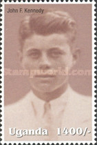 [Famous People of the Late 20th Century - The 85th Anniversary of the Birth of President John F. Kennedy, 1917-1963, Typ CIQ]