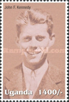 [Famous People of the Late 20th Century - The 85th Anniversary of the Birth of President John F. Kennedy, 1917-1963, Typ CIR]