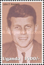 [Famous People of the Late 20th Century - The 85th Anniversary of the Birth of President John F. Kennedy, 1917-1963, Typ CIT]