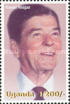 [Famous People of the Late 20th Century - The 91st Anniversary of the Birth of President Ronald Reagan, 1911-2004, Typ CIU]