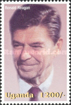 [Famous People of the Late 20th Century - The 91st Anniversary of the Birth of President Ronald Reagan, 1911-2004, Typ CIV]