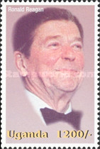 [Famous People of the Late 20th Century - The 91st Anniversary of the Birth of President Ronald Reagan, 1911-2004, Typ CIW]