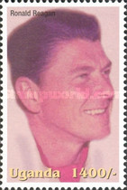 [Famous People of the Late 20th Century - The 91st Anniversary of the Birth of President Ronald Reagan, 1911-2004, Typ CIY]