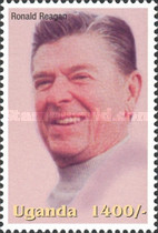 [Famous People of the Late 20th Century - The 91st Anniversary of the Birth of President Ronald Reagan, 1911-2004, Typ CIZ]