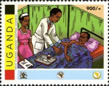 [The Struggle Against African Trypanosomiasis and the Tsetse Fly, Typ CQF]