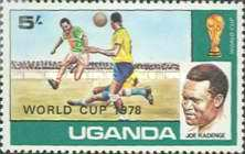 [Football World Cup - Argentina - Issues of 1978 Overprinted