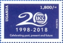 [The 20th Anniversary (2018) of the UCC - Uganda Communication Commission, type DNO]