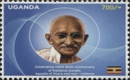 [The 150th Anniversary of the Birth of Mahatma Gandhi, 1869-1948, type DNV]