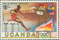 [Olympic Games - Moscow, USSR, type FC]