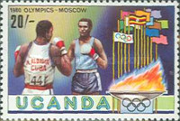 [Olympic Games - Moscow, USSR, type FD]