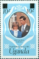 [Royal Wedding - Previously Unissued Stamps Surcharged, Typ FI]
