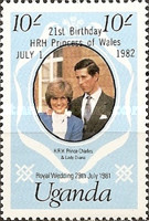 [Royal Wedding - Stamps Reissued with New Face Values, Typ FI1]