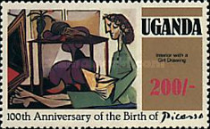 [The 100th Anniversary of the Birth of Picasso, 1881-1973, Typ FP]