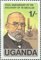 [The 100th Anniversary of Robert Koch's Discovery of Tubercle Bacillus, Typ FZ]