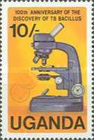 [The 100th Anniversary of Robert Koch's Discovery of Tubercle Bacillus, Typ GA]