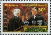 [The 250th Anniversary of the Birth of George Washington, 1732-1799 and the 100th Anniversary of the Birth of Franklin D. Roosevelt, 1882-1945, Typ GT]