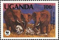 [Endangered Species - Issues of 1983 with Changed Values, Typ HL1]