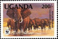 [Endangered Species - Issues of 1983 with Changed Values, Typ HN1]