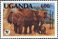 [Endangered Species - Issues of 1983 with Changed Values, Typ HO1]